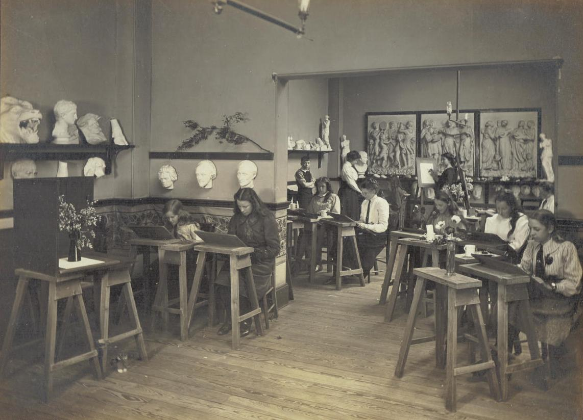 Central Newcastle High School, Art Class 1916