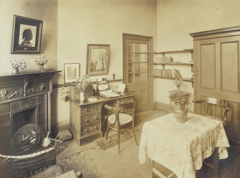 Central Newcastle High School Headmistress's Office 1916