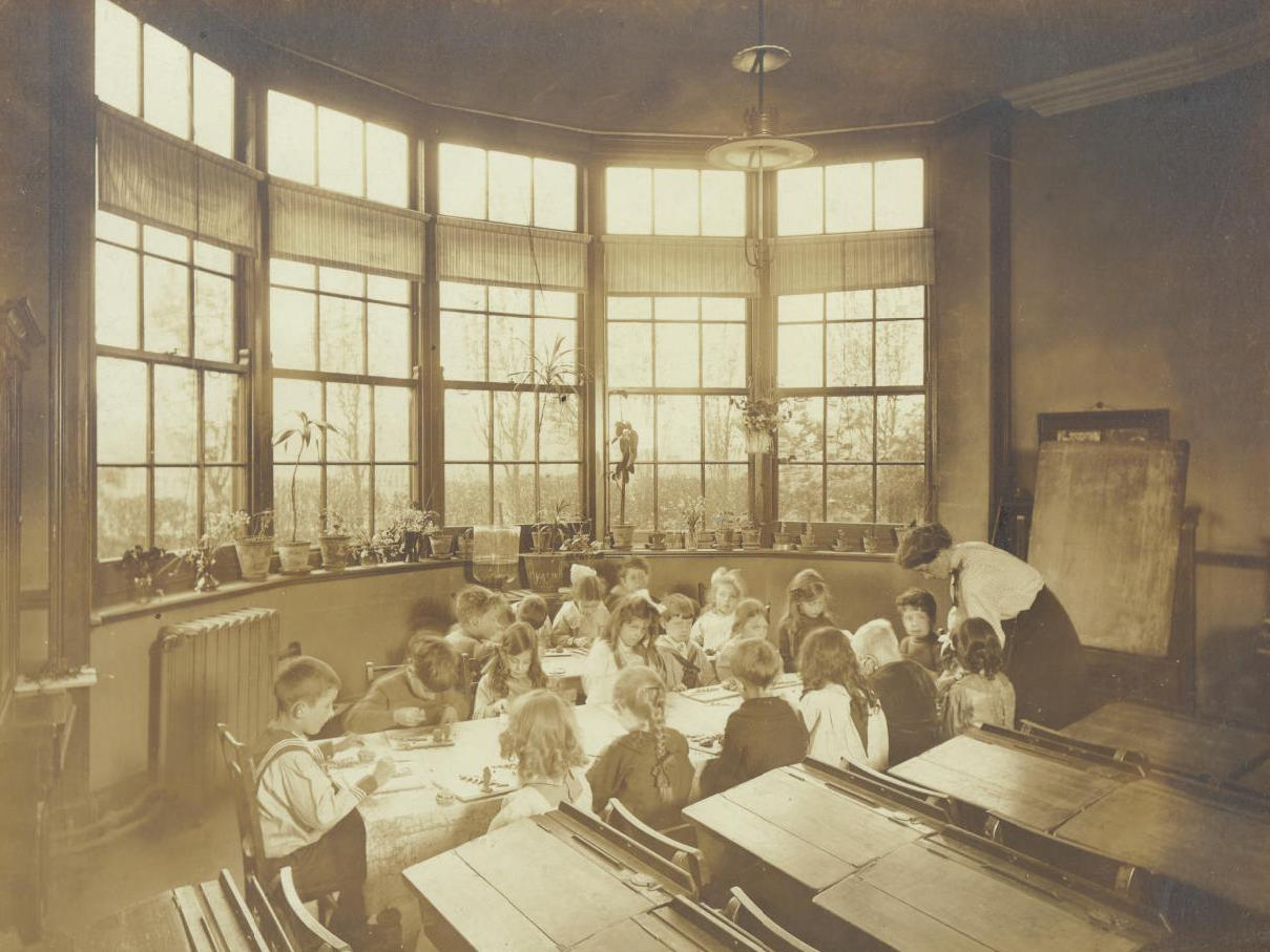 Central Newcastle High School Kindergarten 1916
